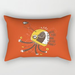 ordered world Rectangular Pillow