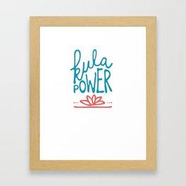 kula power! Framed Art Print