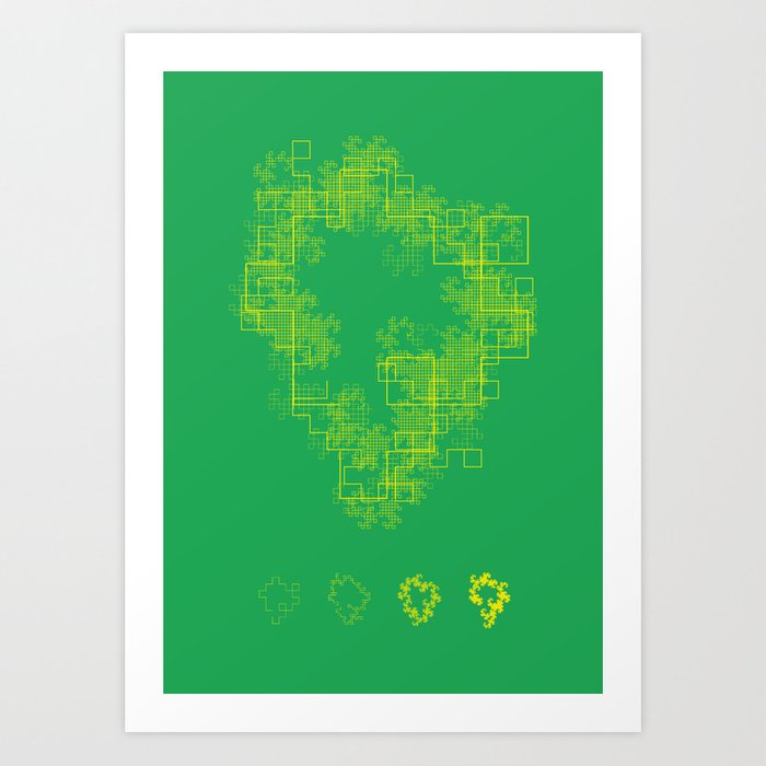 Chaos Isla Art Print