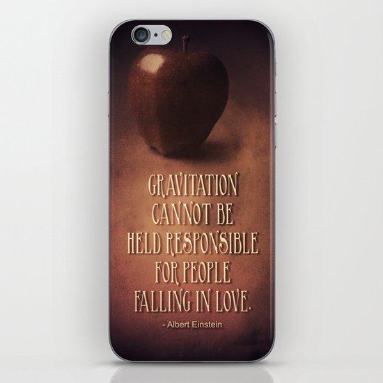EinsteiNewtonelicious iPhone & iPod Skin