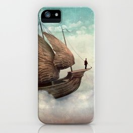 Flying Merchant iPhone Case