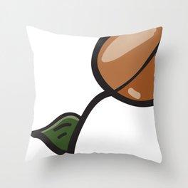 SEEDZ - PEA STASH Throw Pillow