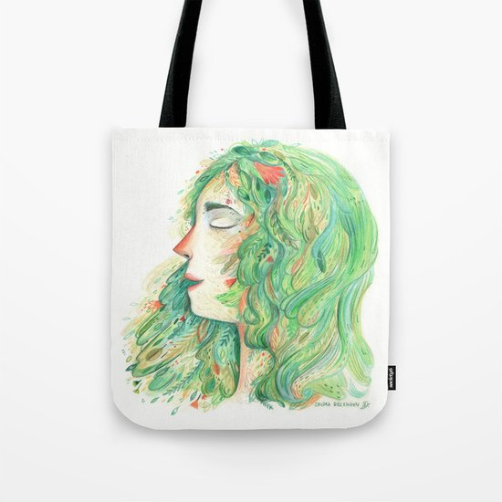 Lady Wildish Tote Bag