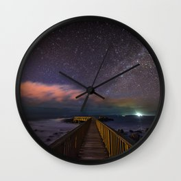 (RR 292) Stars at night Wall Clock