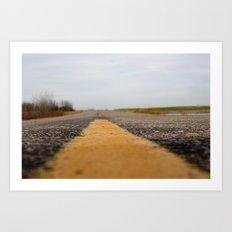 The Everlong Highway Art Print