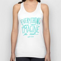picasso Tank Tops featuring Picasso: Imagine by Leah Flores