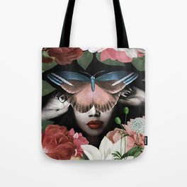 Butterfly woman #society6 #Art Print Tote Bag
