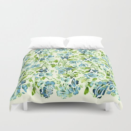 fresh floral Duvet Cover