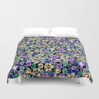 flora Duvet Covers featuring Flora by BellagioVista