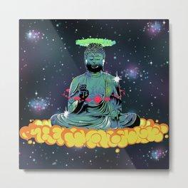 Elevate Buddha  Metal Print