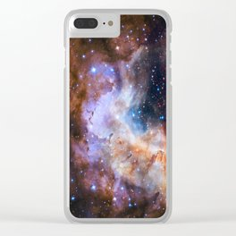 Westerlund 2 - Hubble's 25th Anniversary Clear iPhone Case