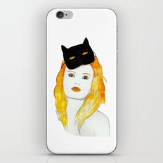 Be a cat iPhone & iPod Skin