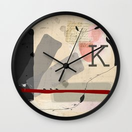 Letter to Felice Wall Clock