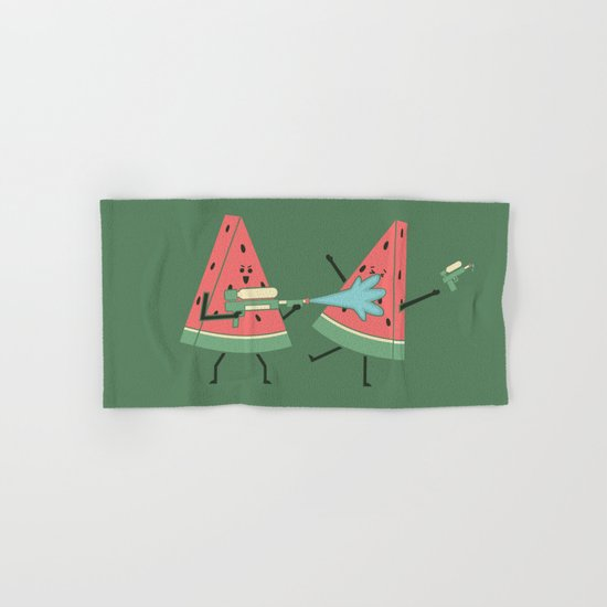 Water Fight Hand & Bath Towel