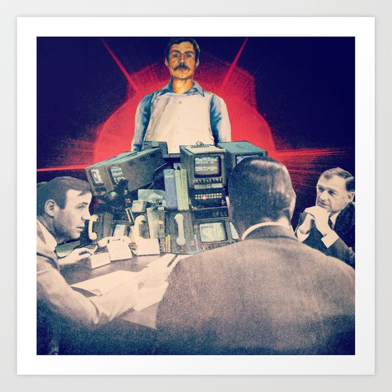 The Initiation of Operative 5 Art Print