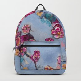 Floral chickadee Backpack
