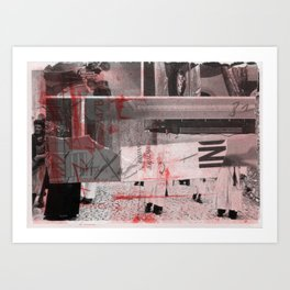 memory and perception 17 Art Print