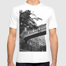 Chelsea Architecture White Mens Fitted Tee X-LARGE