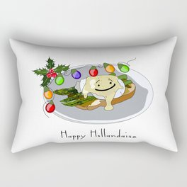 Happy Hollandaise Rectangular Pillow