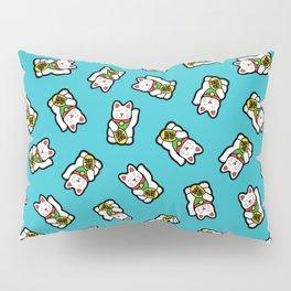 Lucky Cat Pattern Pillow Sham
