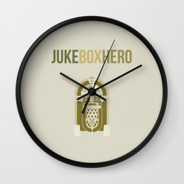 JukeBoxHero Wall Clock