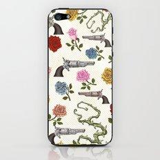 Sweet Guns and Roses iPhone & iPod Skin
