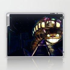 Cat Bus is In Your Town! Miyazaki Tribute Digital Fan Painting Laptop & iPad Skin