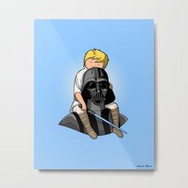 Number One Dad (Vader) Metal Print
