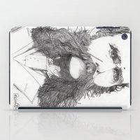 moustache iPad Cases featuring Moustache by Paul Nelson-Esch Art