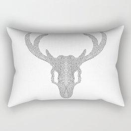 Mr Deer Rectangular Pillow