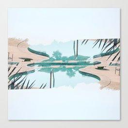 Pool Vibes Canvas Print