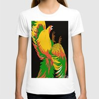 rooster T-shirts featuring Rooster by Saundra Myles