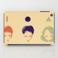 deathly hallows iPad Cases featuring the deathly hallows by endlesstakeout