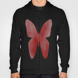 Red Butterfly Hoody