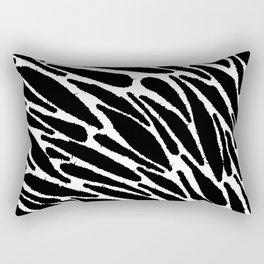 Blackwork Rectangular Pillow