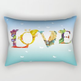 Love In The Air Rectangular Pillow