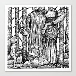 John Bauer Trollörten Canvas Print