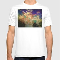 Dream MEDIUM White Mens Fitted Tee