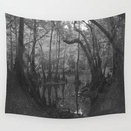 Florida Swamp Wall Tapestry