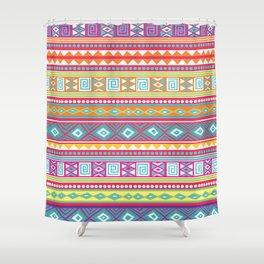 aztec pattern Shower Curtain