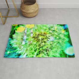 Abstract in Perfection - Blowball Rug