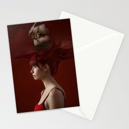 Sailing - Red Stationery Cards