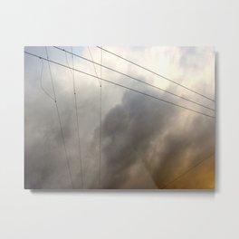 Wiry Sky Metal Print