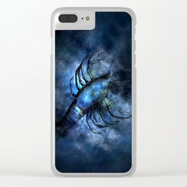 Lobster/Crab Clear iPhone Case