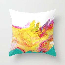 Phoenix Fire Throw Pillow