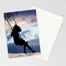 Her dreams are perfect Stationery Cards
