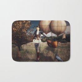 Flight of Fancy (Steampunk) Bath Mat