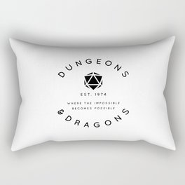 DUNGEONS & DRAGONS - WHERE THE IMPOSSIBLE BECOMES POSSIBLE Rectangular Pillow