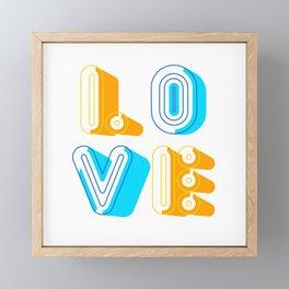Love [illustration] Framed Mini Art Print