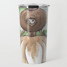 Empire of Mushrooms: Geastrum minimum Travel Mug